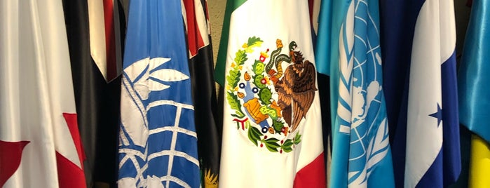 United Nations, ICAO NACC Regional Office is one of D.F..
