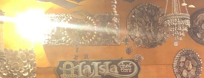 Restaurant La Isla is one of a probar.