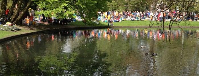 Wilhelminapark is one of สถานที่ที่ sanne ถูกใจ.