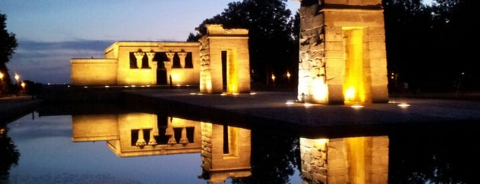 Templo de Debod is one of Madrid.