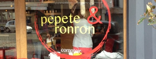 Pepete & Ronron Lepage is one of Bxl.