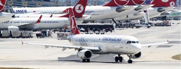 İstanbul Atatürk Havalimanı (IST) is one of IST.