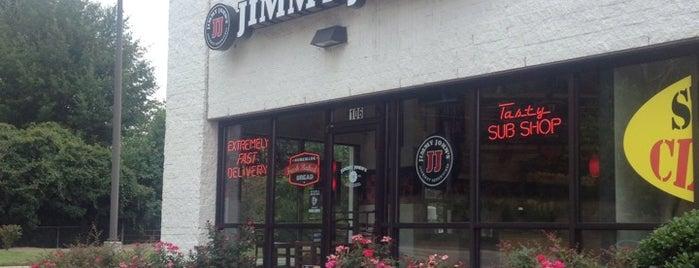 Jimmy John's is one of สถานที่ที่บันทึกไว้ของ Ronald.
