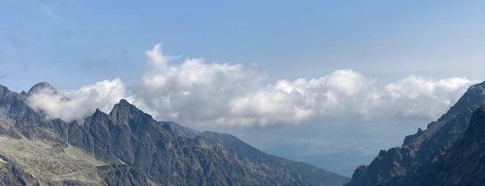 Východná Vysoká (2 428,6 m n. m.) is one of Turistické body v TANAP-e.