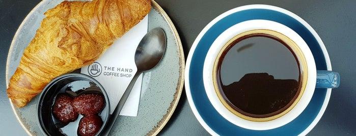 The Hand Coffee Shop & Wine   Spesiality Coffee & Micro Roastery is one of Kuşadası.