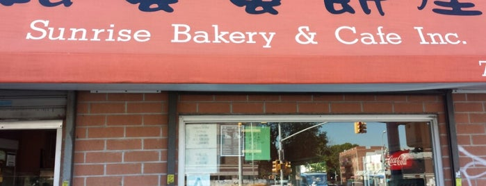 Sunrise Bakery & Café is one of Queens.