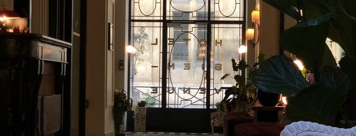 Hotel Bienvenue is one of Paris Terasses.