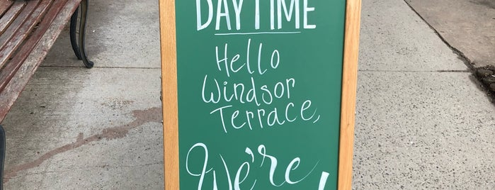 Daytime is one of Neighborhood coffee.
