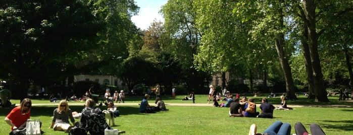 Russell Square is one of London things to do.
