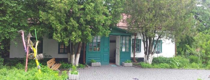 Музей-садиба Михайла Коцюбинського is one of Музеї і театри Вінниці.