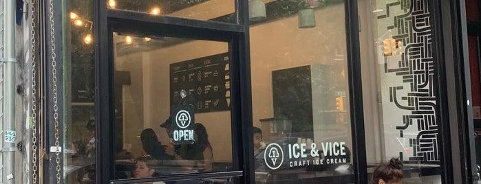 Ice & Vice is one of Kisha'nın Beğendiği Mekanlar.