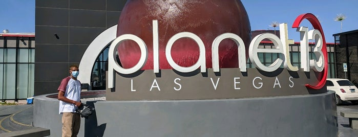Planet 13 Marijuana Dispensary is one of Viva Las Vegas.