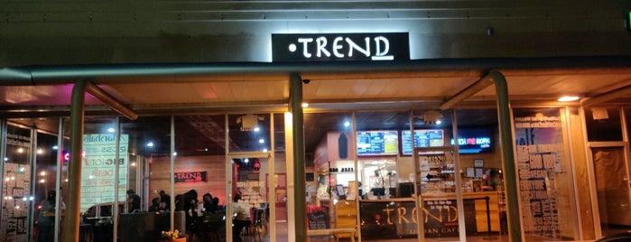 Trend Urban Cafe is one of vegan friendly in atlanta ga.