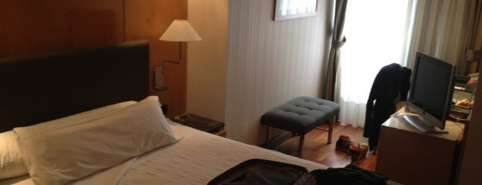 Hotel NH Madrid Paseo de La Habana is one of Tomasさんのお気に入りスポット.