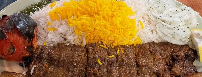 Hafez Persian Cuisines is one of สถานที่ที่ Rj ถูกใจ.