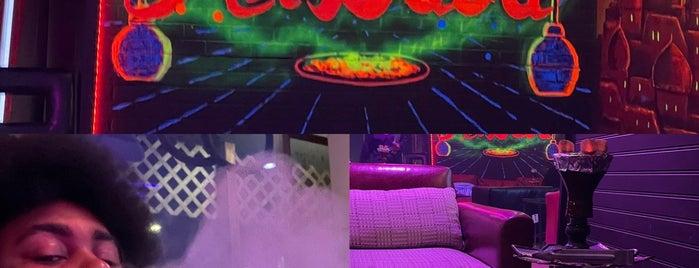 Alibaba Hookah Lounge is one of สถานที่ที่ Rj ถูกใจ.