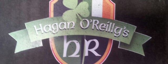 Hagan O'Reilly Irish Pub is one of Tempat yang Disukai Mujdat.