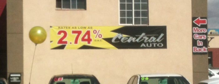 Central Auto is one of Oleta's Liked Places.