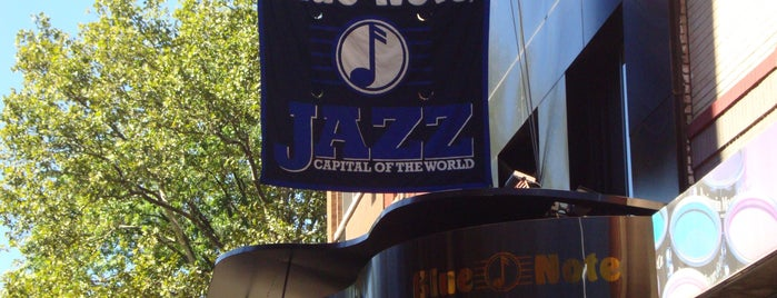 Blue Note is one of New York.