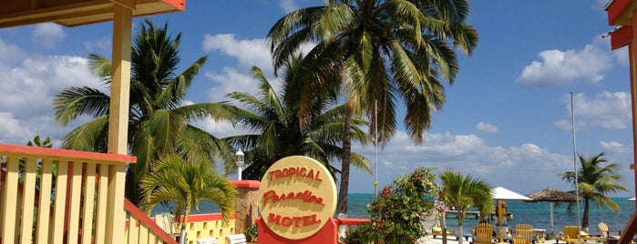 Tropical Paradise is one of Caye Caulker Essentials.