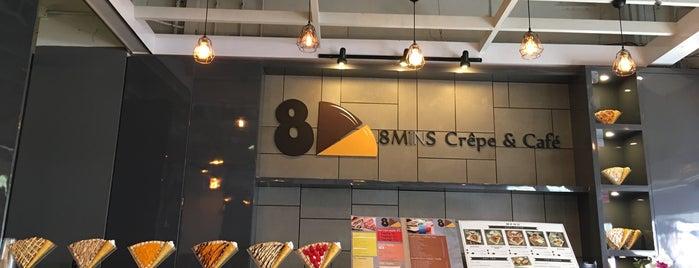 8 MINS Crêpe & Café is one of Orte, die Chuck gefallen.