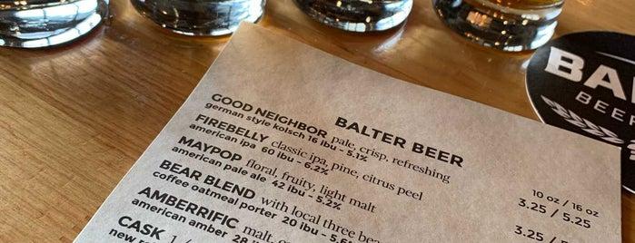 Balter Beerworks is one of Gespeicherte Orte von Sarah.