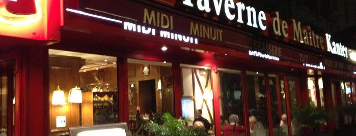 La taverne de Maitre Kanter is one of Sur de Francia.