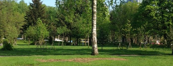 Парк Юннатов is one of Lieux qui ont plu à Hookah by.