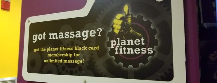Planet Fitness - Temporarily Closed is one of Tempat yang Disukai Eric.
