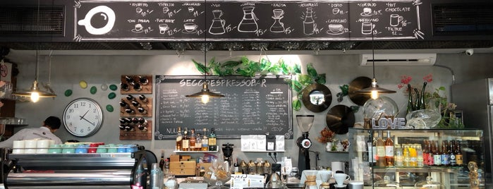 SECCOCAFE Espresso Bar is one of Istanbul.