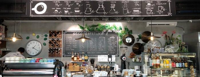 SECCOCAFE Espresso Bar is one of Kahve Molası ☕️.