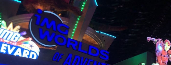 IMG Worlds of Adventure is one of Dubai.