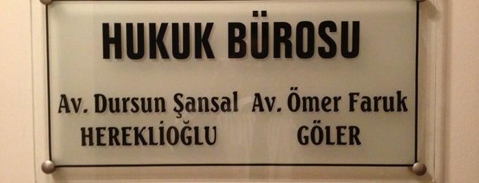 H&G Hukuk Bürosu is one of Lieux sauvegardés par hulya.