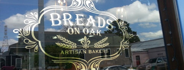 Breads on Oak is one of nola.