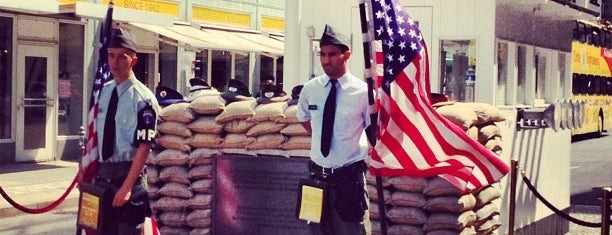 Checkpoint Charlie is one of Germany.