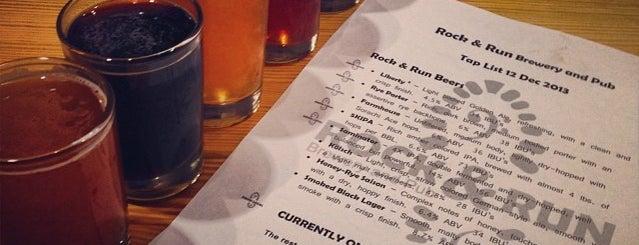 Rock & Run Brewery is one of Locais curtidos por Stasia.