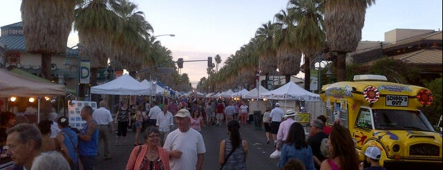 Palm Springs VillageFest is one of desert holiday.