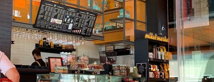 Mikel Coffee Company is one of Lugares favoritos de Candice.