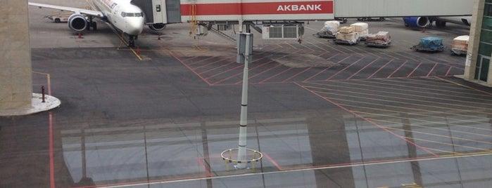 Aéroport Esenboğa d'Ankara (ESB) is one of Lieux qui ont plu à Humeyra.