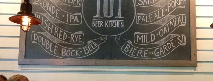 101 Beer Kitchen is one of Everything.