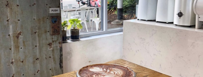 Aucuba Coffee is one of Melbourne.