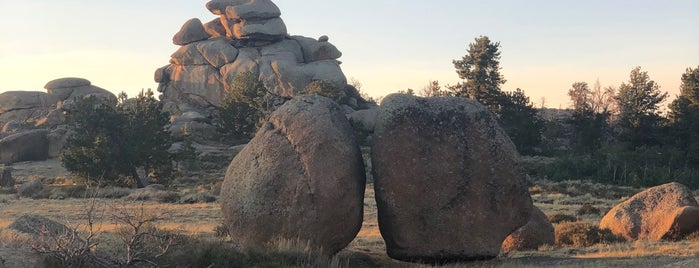Vedauwoo Recreation Area is one of Native American Cultures, Lands, & History.
