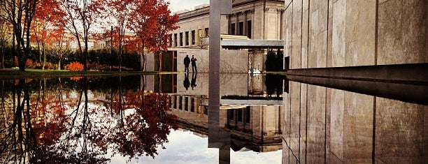 The Barnes Foundation is one of Philly.