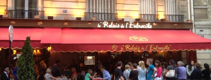 Le Relais de l'Entrecôte is one of restos.