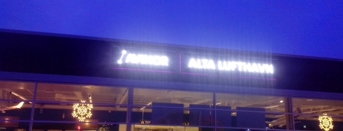 Alta Lufthavn (ALF) is one of Airports I've been to.