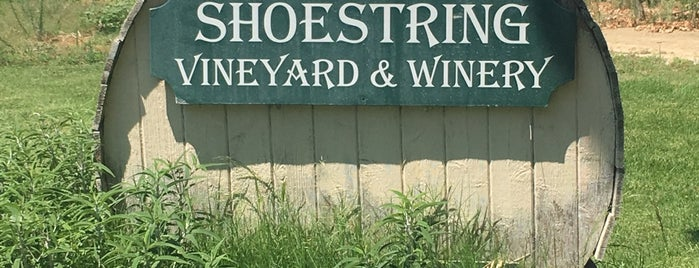 Shoestring Vineyard & Winery is one of You Fancy Huh.