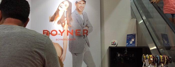 Boyner is one of Sergen Ali'nin Beğendiği Mekanlar.