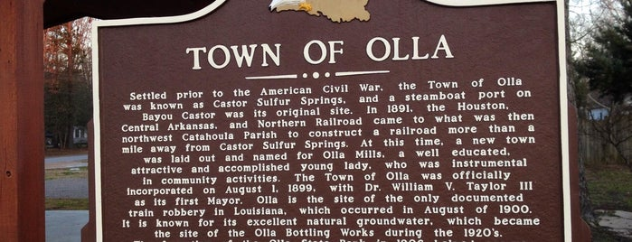 Olla, Louisiana is one of Cities I've Been To.