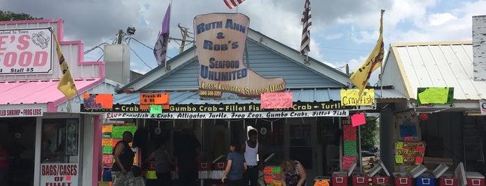 Wayne Hebert's Seafood is one of NOLA.