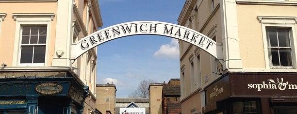Greenwich Market is one of London.
